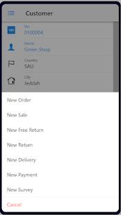 Dynamics Mobile - Van-sales & Warehouse app