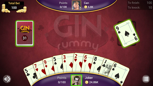 Gin Rummy - Offline Free Card Games apkpoly screenshots 8