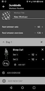 Dumbbell Home Workout Mod Apk [PREMIUM] Download 7
