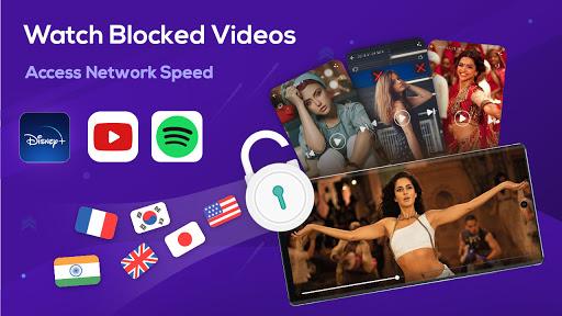 Free Super Z-VPN - Fast & Worldwide Proxy VPN  screenshots 1