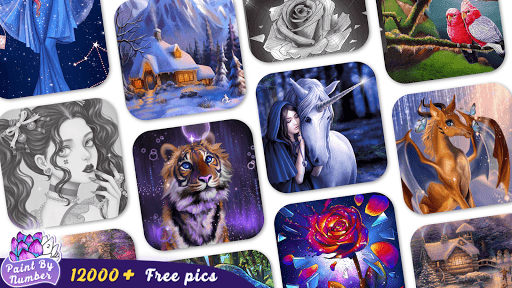 Paint By Number - Coloring Book & Color by Number  Screenshots 8