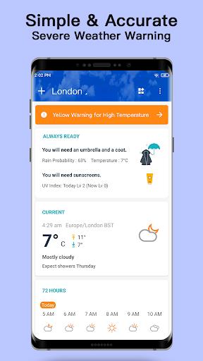 Weather - Live weather & Radar app 1.0.3.9 Screenshots 2