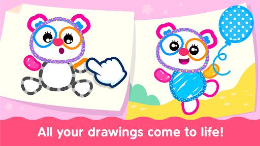 Bini Toddler Drawing Apps! Coloring Games for Kids apktram screenshots 19