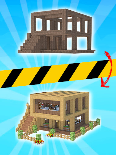 House Craft 3D - Idle Block Building Game Apkfinish screenshots 5