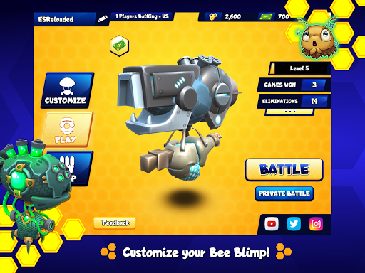 Battle Bees Royale  screenshots 12
