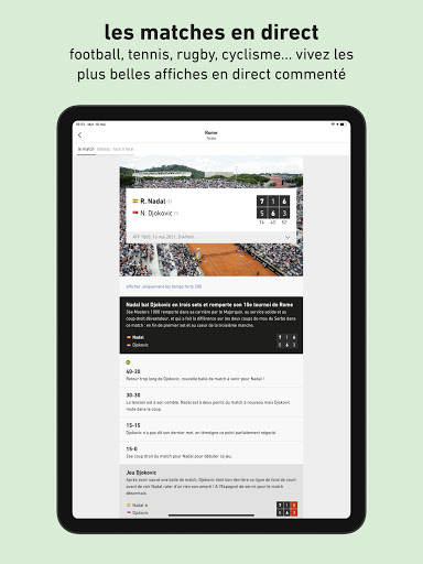 L'u00c9quipe - Sport en direct : foot, tennis, rugby.. apktram screenshots 12