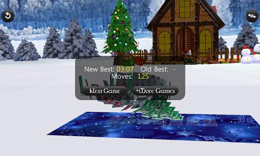 christmas solitaire screenshot 3