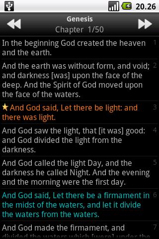 Holy Bible (KJV) 1.5 Screenshots 5