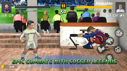 Soccer fighter 2019 - Free Fighting games 2.4 screenshots 4