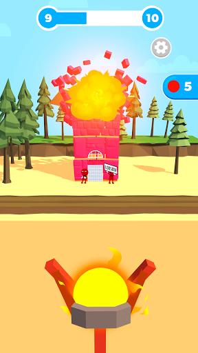 Slingshot Smash: Shooting Range android2mod screenshots 7