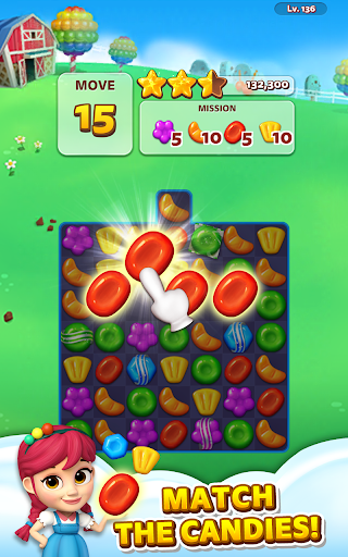 Sweet Road: Cookie Rescue Free Match 3 Puzzle Game screenshots 15