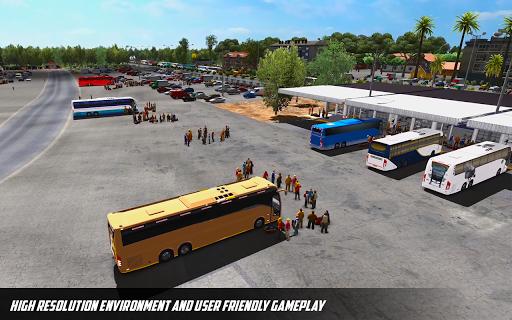 Bus Simulator: Hill Coach Driving Bus Sim androidhappy screenshots 2