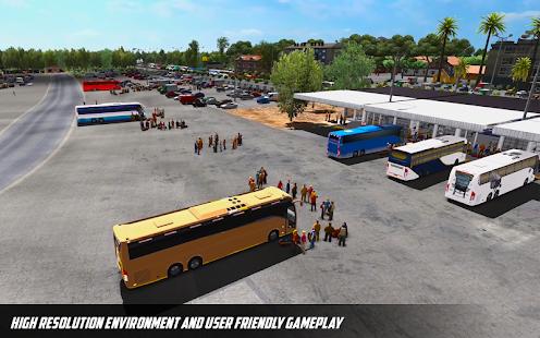 Bus Simulator: Hill Coach Driving Bus Sim apk