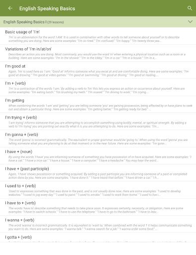 Learn to Speak English 2.4.8 Screenshots 7