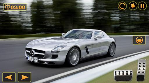 Benz SLS AMG: Extreme City Stunts Drive & Drifts Apkfinish screenshots 2