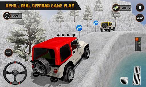 Offroad Jeep Driving Simulator : Real Jeep Games Apkfinish screenshots 3