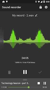 Recordr – Sound Recorder Pro MOD APK 1