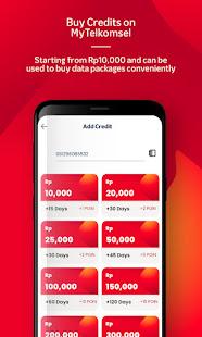 MyTelkomsel u2013 Buy Credit/Packages & Get 7.5GB 6.0.0 Screenshots 6