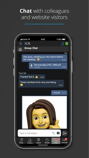 3CX Communications System 16.6.2 Screenshots 3
