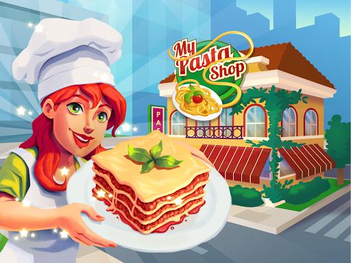 My Pasta Shop - Italian Restaurant Cooking Game apkslow screenshots 15