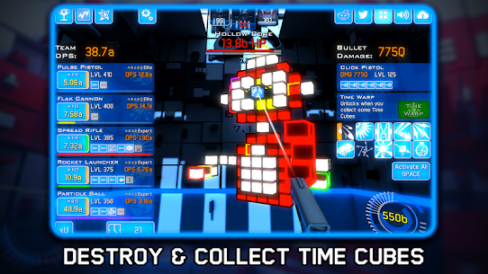 Time Clickers Mod Apk (Unlimited Gold) 3