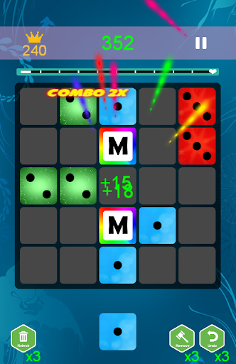domino 7! block puzzle screenshot 1