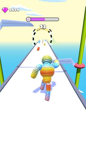 Rope-Man Run Apkfinish screenshots 12