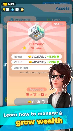 Millionaire Tycoon: World Varies with device screenshots 2
