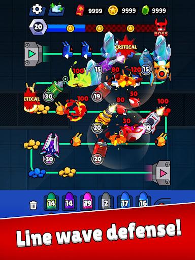 Merge Guns!: Line Defense  screenshots 11