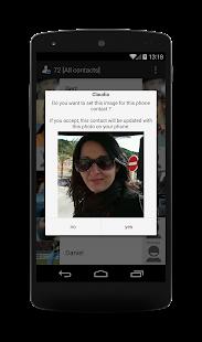 Contact Photo Sync Screenshot