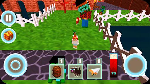 Monster school 3 Herobrine vs zombie apocalypse apkdebit screenshots 7