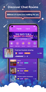OyeTalk – Live Voice Chat Room 1