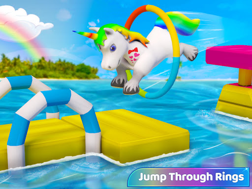 Baby Unicorn Wild Life: Pony Horse Simulator Games 1.2.5 screenshots 7