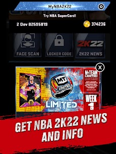تحميل لعبة NBA 2K22 مهكرة 5