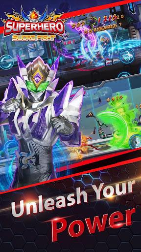 Superheroes Fight: Sword Battle - Action RPG screenshots 2