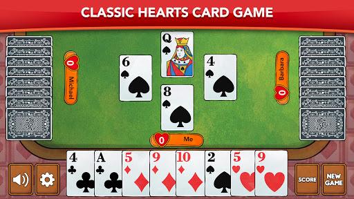 Hearts - Card Game Classic apktram screenshots 7