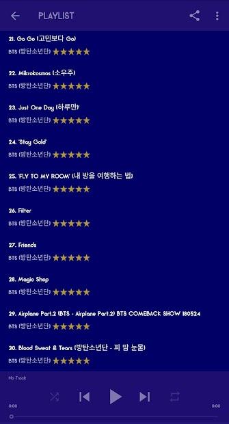 BTS Mp3 Offline (Life Goes On) screenshot 5