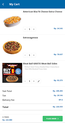 Domino's Pizza Indonesia - Home Delivery Expert 5.1.07 Screenshots 6