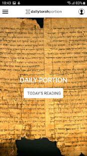 Daily Torah Portion