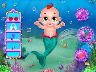 Little Mermaid Baby Care Ocean World 7