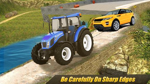 Heavy Tractor Pulling & Farming Drive Simulator screenshots 8
