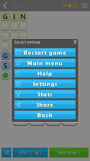AnagramApp. Word anagrams 1.0.7 screenshots 7