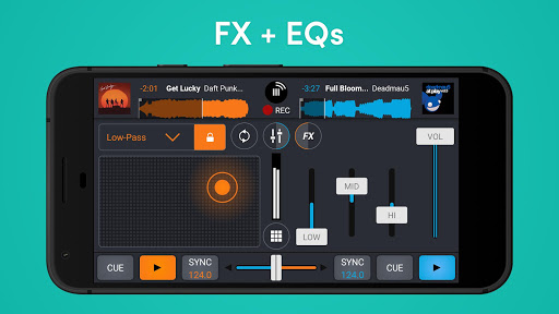 Cross DJ Free - dj mixer app 3.5.8 Screenshots 5