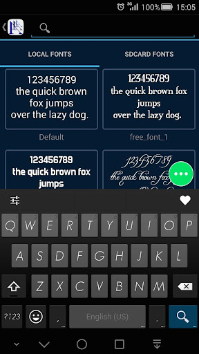 Font Manager - Flipfont, Emoji  screenshots 2