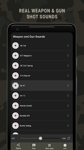 weapon and gun sounds screenshot 1