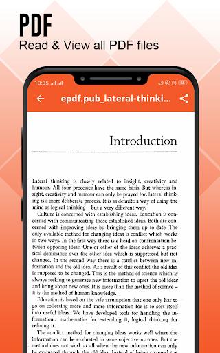 Document Reader : Documents Viewer - PDF Creator 2.4 screenshots 3