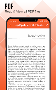 Document Reader: Documents Viewer – PDF Creator 3