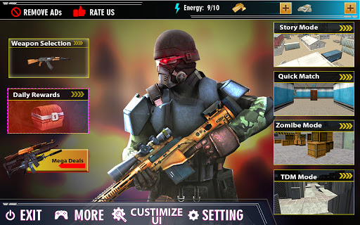 offline shooting game: free gun game 2020 1.6.1 screenshots 3