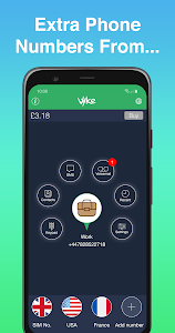 Vyke: Second Phone Number/2nd Line – Call & Text 1.7.5