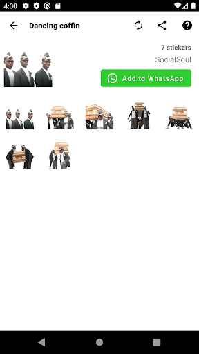 Emojis, Memojis and Memes Stickers - WAStickerApps WAStickerApps 1.0.49 Screenshots 3